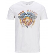Jack&Jones Tricou pentru bărbați Jorelectic Tee Ss Crew Neck Cloud Dancer M