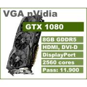 VGA nVidia GeForce GTX 1080, 8GB, 36mj