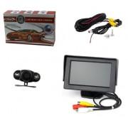 Sistem de parcare auto cu monitor LCD 4.3 Inch si camera video
