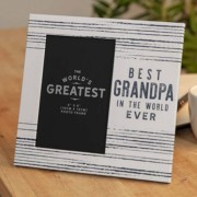 Best Grandpa In The World Ever Photo Frame
