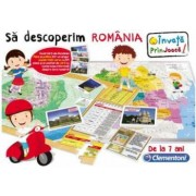 Joc educativ : Sa Descoperim Romania 7 ani +