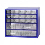 MARS Metalowe szafki z szufladami, 19 szuflad