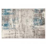 Alfombra crudo y azul 160 x 230 cm CAPS - Miliboo