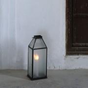 Passage Vernet Lanterne en verre gaufré