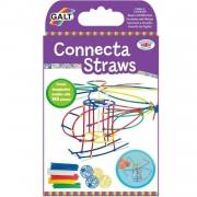 Galt bouwpakket Connecta Straws 140-delig