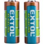 Extol elem készlet 12 V, 23 A, 2 db (42017)