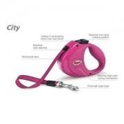 Flexi CITY pásek 2 m, do 35 kg růžové