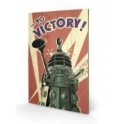 Tablou pe lemn Doctor Who Victory
