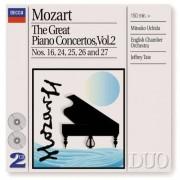 W. A. Mozart - Great Piano Concertos2 (0028946891827) (2 CD)