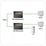 Video Extender 2 monitoare VE150 ATEN