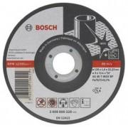 Disc de taiere plan inox - Rapido Long Life D=125mm G=1mm