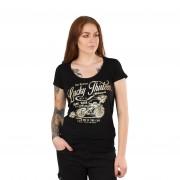 Lucky 13 T-Shirt Lucky 13 Catch Me Ladies Svart