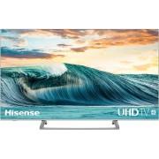 Televizor LED Hisense H55B7500, 138 cm, 4K, Procesor quad core, Dolby Audio, Smart TV, Wi-Fi, Bluetooth, CI+, Clasa A, Negru/Argintiu
