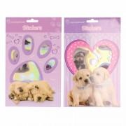 Honden/puppy dieren stickertjes
