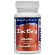 Simply Supplements Zinc-15mg - Small