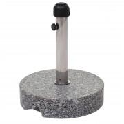 Sonnenschirmständer Schirmständer Schirmhalter Granit, 25kg grau rund ~ Variantenangebot