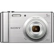 Digitalni foto-aparat Sony DSCW800, Srebrna