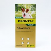 Drontal Allwormer Tablets For Small Dogs & Puppies