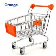 Shopping Cart Storage Holder Desk Decoration Storage Case Container