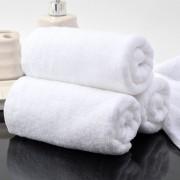 Бяла хавлиена кърпа 50/90- тип Хотел