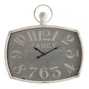 Oak Furnitureland Clocks - Family Wall Clock - Oak Furnitureland