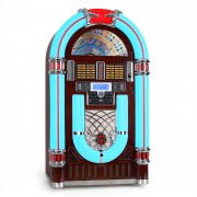Audiola Majestic JB 3710TT Jukebox USB SD CD AUX Rádio Giradiscos