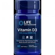 Vitamin D3, 125 mcg , 5000 IU, 60 softgels