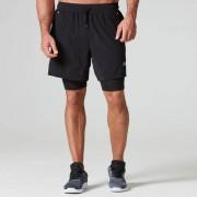 Myprotein Shorts Dual Sport - XXL - Navy