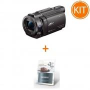Pachet Sony Handycam FDR-AX33 Camera Video 4K + Garantie Extinsa 3 Ani