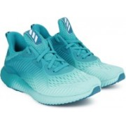 ADIDAS ALPHABOUNCE EM W Running Shoes For Women(Blue)