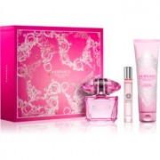 Versace Bright Crystal Absolu lote de regalo II. eau de parfum 90 ml + gel de ducha 150 ml + eau de parfum roll-on 10 ml