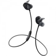 Безжични слушалки BOSE SoundSport Headphones, Bluetooth, NFC, Microphone, Черни, 761529-0010