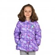 Frozen lila lány kabát