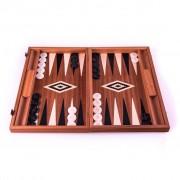 Set joc table backgammon lemn de trandafir nod inlaid 48 x 60 cm