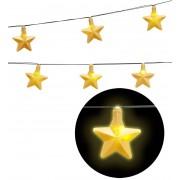 Guirnalda Luminosa Estrella 2,5 cms-10 luci a Baterias.
