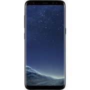 "Telefon Mobil Samsung Galaxy S8, Procesor Octa-Core 2.3GHz / 1.7GHz, Super AMOLED Capacitive touchscreen 5.8"", 4GB RAM, 64GB Flash, 12MP, 4G, Wi-Fi, Android (Midnight Black)"