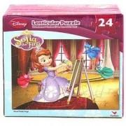 Disney Princess Sofia the First 3D Painting 3D Puzzle-24 pieces