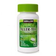 ALLER-TEC 10mg (Cetirizine HCL/ Antihistamine) 365 Tablets