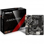 MB, ASRock A320M-HDV /AMD А320/ DDR4/ AM4