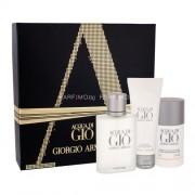 Giorgio Armani Acqua di Gio Pour Homme 100ml за Мъже - Тоалетна вода 100 ml + деостик 75 ml + душ гел 75 ml