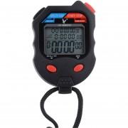 Cronógrafo Profesional LCD Cronómetro 3 Filas 100 Memorias