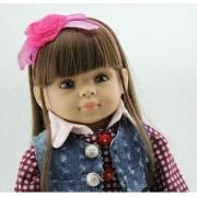 Reborn Poupée Populaire American Girl Poupée Voyage Fille Dollie & Me De Mode Poupée Jouets Pour Filles D'anniversaire Cadeau Reborn Bébé Doux