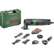 Bosch Home and Garden Multifunkční nářadí Bosch Home and Garden PMF 250 CES Set 0603102101, 250 W, vč. příslušenství, kufřík, 16dílná