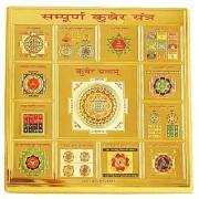 Jewelswonder Prabhu Drishti Sampurna Kuber Yantra