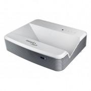Optoma - EH319UST Proyector para escritorio 3500lúmenes ANSI DLP 1080p (1920x1080) 3D Gris, Color blanco videoproye
