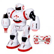 SGILE Programmable Robot with Three Control Modes and Motion Sensing Technologies, Cady Will Humanoid Interactive Fighting Dancing Rc Robotics Toys, Gift for Kids Childrens, Red