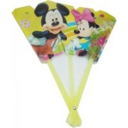lookat Foldable Printed Multicolor Hand Fan(Pack of 1)
