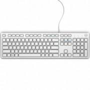 Клавиатура Dell KB216, бяла, USB