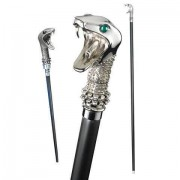 Noble Collection Lucius Malfoy's Walking Stick met toverstok