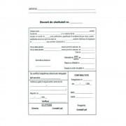 Decont de Cheltuieli A5, 100 File/Carnet, Fata/Verso - Formular Gestionare Cheltuieli